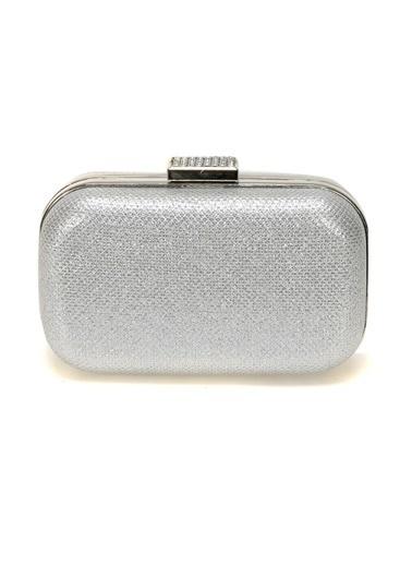 Butigo Clutch / El Çantası Gümüş